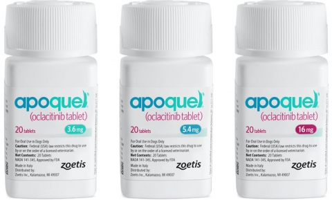 Apoquel 5 4 Mg Tablets Allergic Skin Disease Atopic